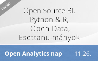Open analytics Nap ajánló